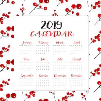 Calendários de ano novo