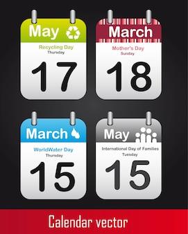 Calendários de dias especiais