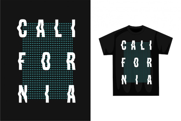 Califórnia - t-shirt gráfica