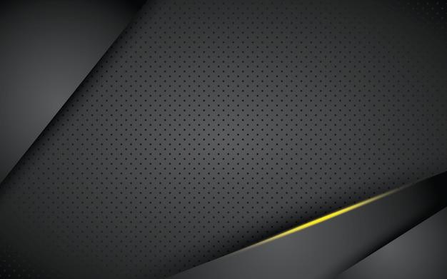 Camada de sobreposição de fundo preto abstrato