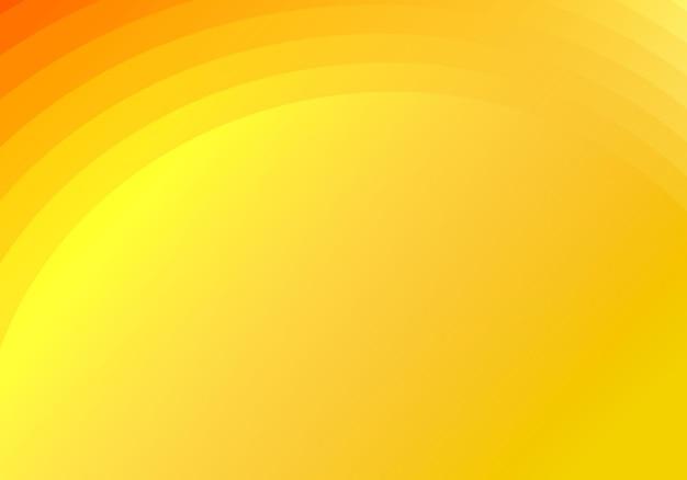 Camadas de círculos amarelos abstratos iluminando o fundo e a textura