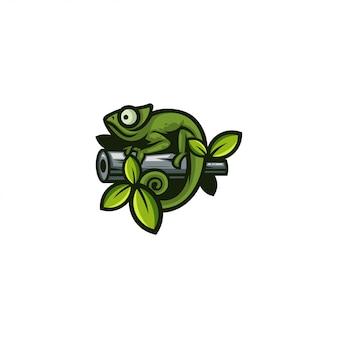 Camaleão de ícone
