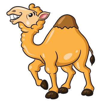 Camelo bonito dos desenhos animados