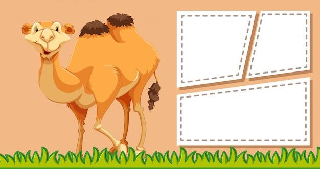 Camelo em nota