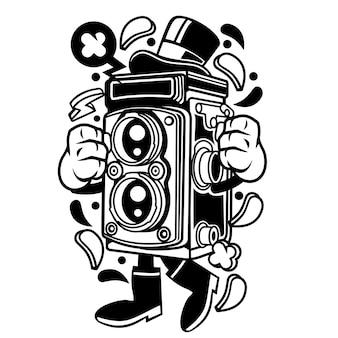 Câmera da velha escola