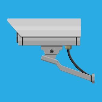 Câmera de segurança. câmera remota de vigilância.