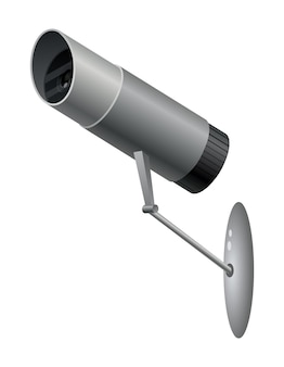 Câmera de vigilância de vídeo decorativa