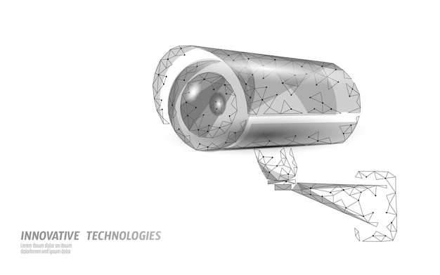 Câmera digital de controle de privacidade cctv