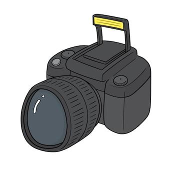 Câmera e flash