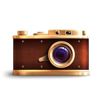 Câmera estilo retro