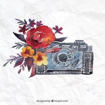Câmera watercolor