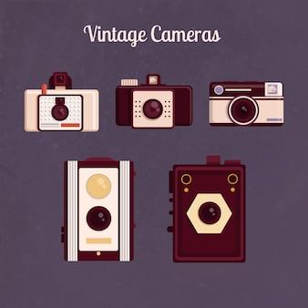Câmeras do vintage