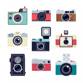 Câmeras retros
