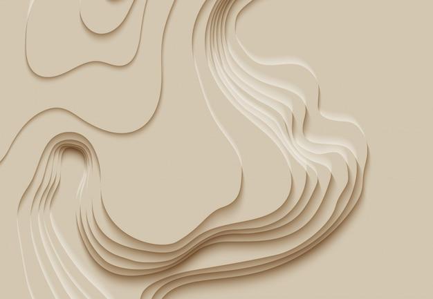 Caminhadas na montanha. linha de mapa da topografia. conceito abstrato mapa topográfico com espaço para sua cópia. cartografia 3d concep fundo. infografia de maquete de mapa. fundo de venda. pano de fundo ondulado
