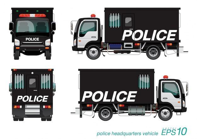 Caminhão da polícia