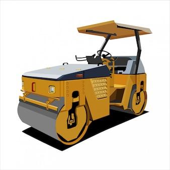 Caminhão de construção bulldozer