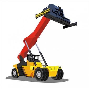 Caminhão de construção