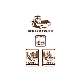 Caminhão de rolos
