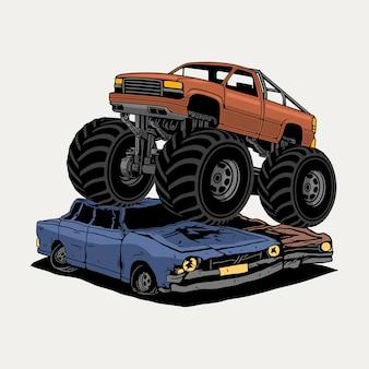 Caminhão monstro