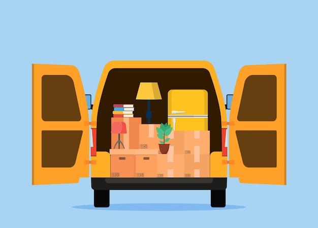 Caminhão para transporte de mercadorias