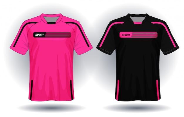 Camisa de futebol esporte t-shirt design.
