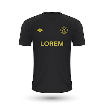 Camisa de futebol realista aik 2022, modelo de camisa para ki de futebol