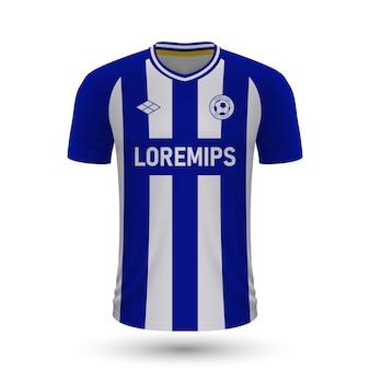 Camisa de futebol realista goteborg 2022, modelo de camisa para footba