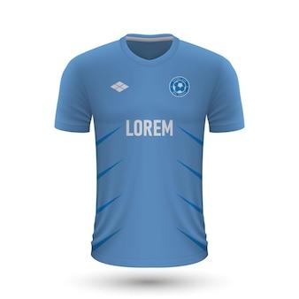 Camisa de futebol realista malmo 2022, modelo de camisa para futebol