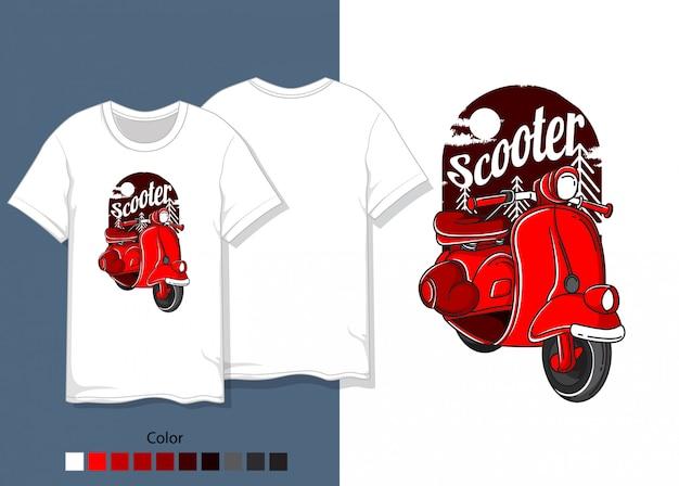 Camisa de scooter
