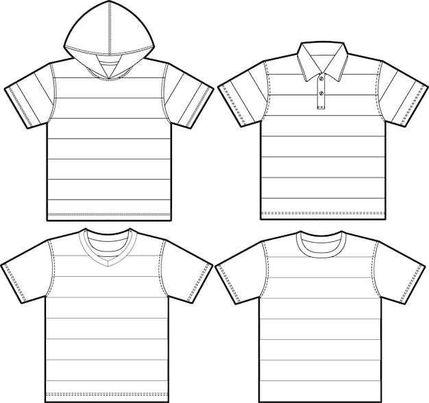 Camisa de t-shirt
