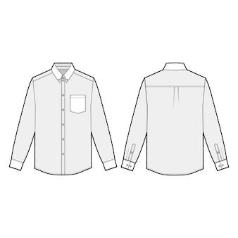 Camisas de manga comprida
