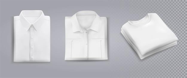 Camisas dobradas