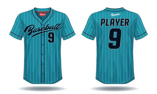 Camiseta de beisebol.