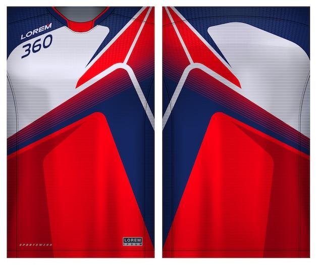 Camiseta esportiva para futebol