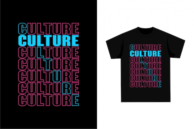 Camiseta gráfica - cultura
