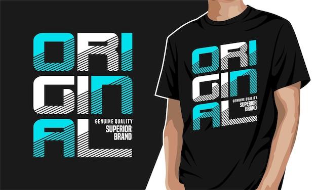 Camiseta gráfica original para impressão