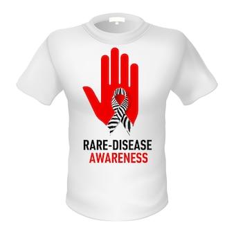Camisetas consciência das doenças raras