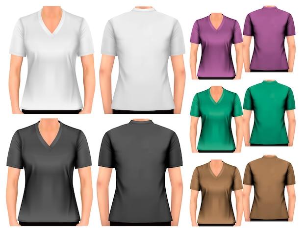 Camisetas femininas.