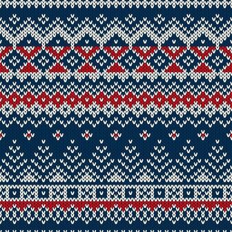Camisola de natal. padrão sem emenda com árvores de natal