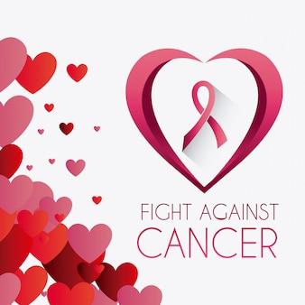 Campanha contra o câncer de mama