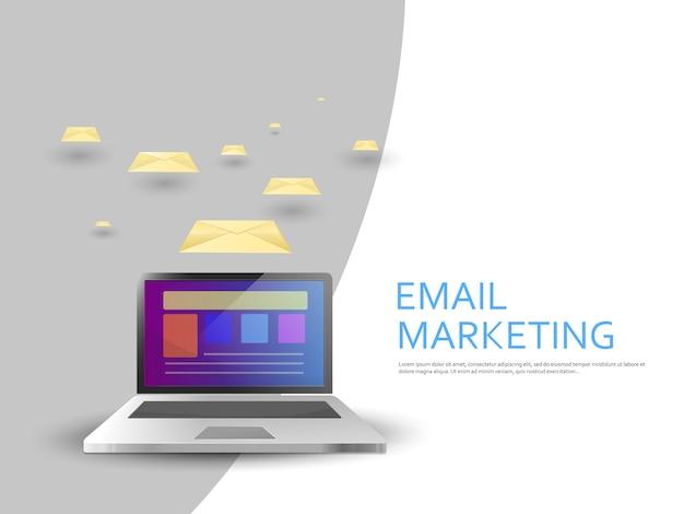 Campanha de marketing por e-mail