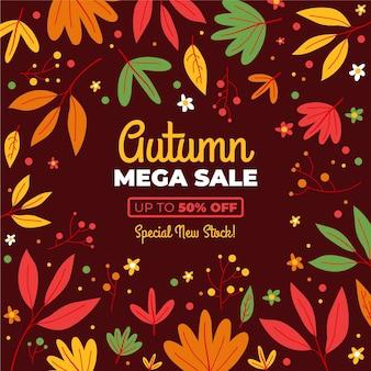 Campanha de outono à venda
