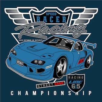 Campeão de velocidade na cidade