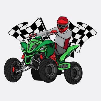 Campeonato de corrida atv
