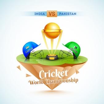 Campeonato mundial de críquete.