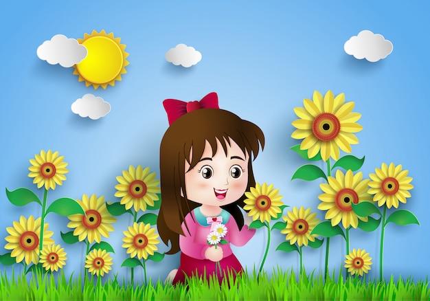 Campo de flor
