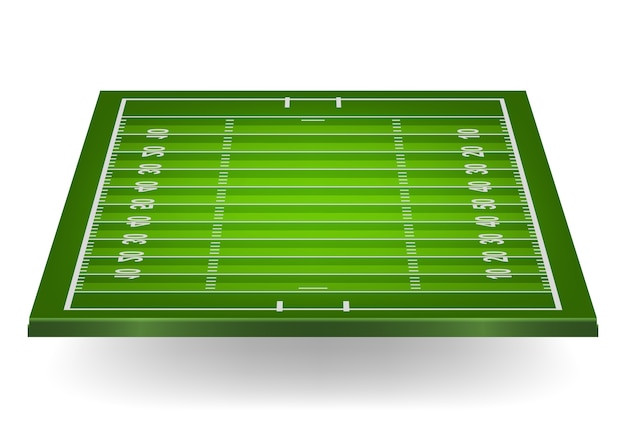 Campo de futebol americano.