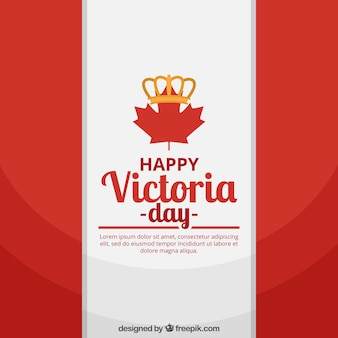 Canadá, bandeira, fundo, victoria, dia