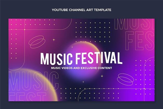 Canal do youtube do festival de música gradiente