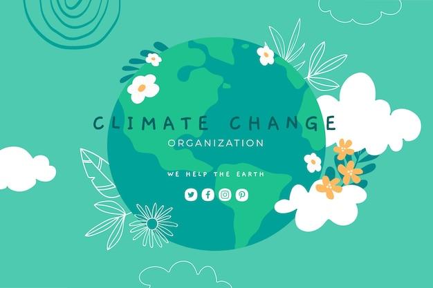 Canal do youtube sobre mudança climática desenhado à mão